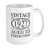 90 year old cups Large Mugs (15 oz)