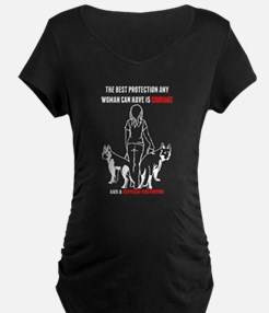 The Best Protection Any Woman Ca Maternity T-Shirt