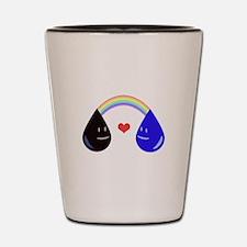 Opposites Attract - Oil & Water mak Shot Glass