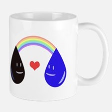 Opposites Attract - Oil & Water make a Ra Mugs