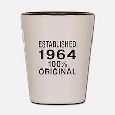 Established 1964 Shot Glass