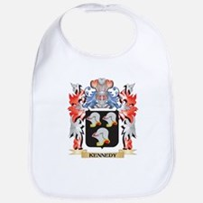 Kennedy Coat of Arms - Family Crest Baby Bib
