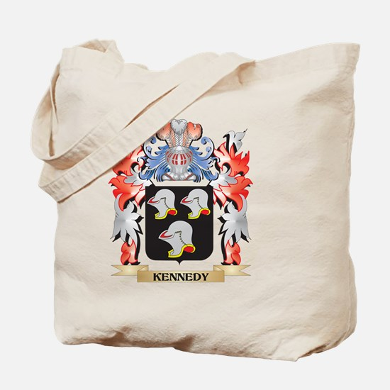 Kennedy Coat of Arms - Family Crest Tote Bag