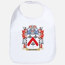 Kennedy- Coat of Arms - Family Crest Baby Bib