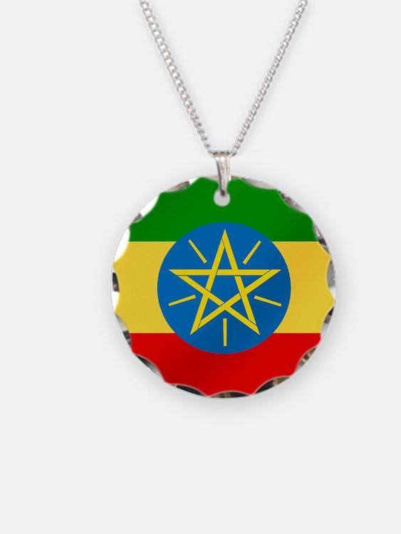 Flag of Ethiopia Necklace