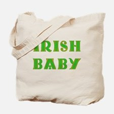 IRISH BABY (Celtic font) Tote Bag