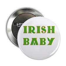 "IRISH BABY (Celtic font) 2.25"" Button"