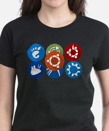ubuntu distros T-Shirt
