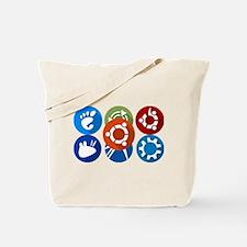 ubuntu distros Tote Bag
