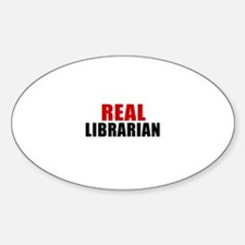 Real Librarian Decal