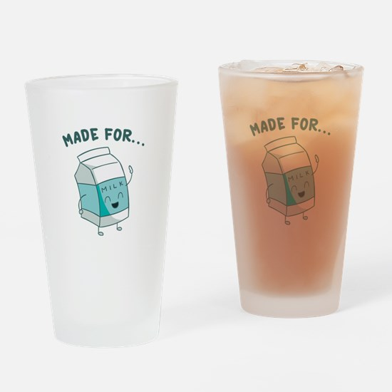 Made For Each Other Drinking Glass
