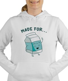 Made For Each Other Women's Hooded Sweatshirt