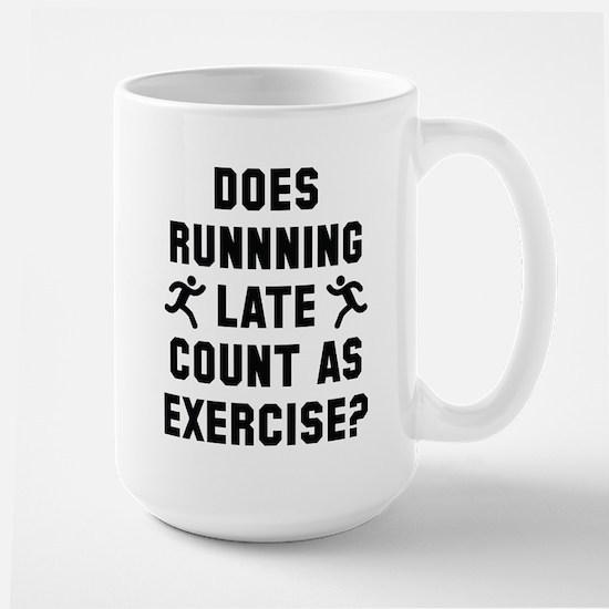 Running Late Large Mug