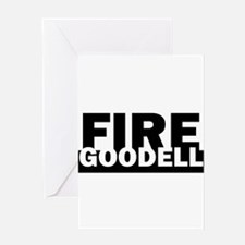 Fire Goodell - Roger Goodell Funny Greeting Cards