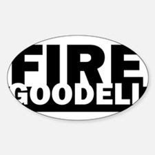 Fire Goodell - Roger Goodell Funny Decal