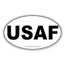 USAF Car Oval Decal