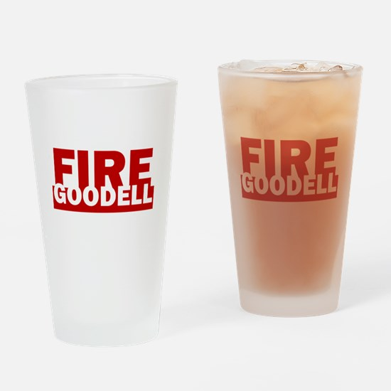 Fire Goodell Pats Funny Roger Hilar Drinking Glass