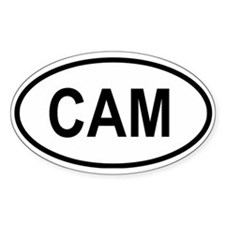 Cameroon Oval Decal