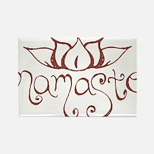 Namaste Lotus Flower Magnets