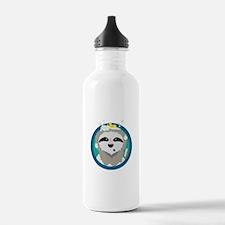 Bathing Sloth with bub Water Bottle
