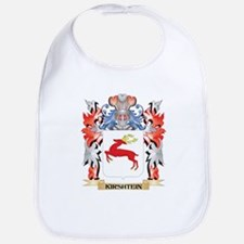 Kirshtein Coat of Arms - Family Crest Baby Bib