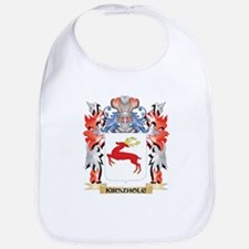 Kirszholc Coat of Arms - Family Crest Baby Bib