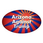Arizona Against Trump Sticker