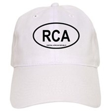 Central African Republic Oval Baseball Cap