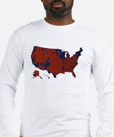 County Results 2008 President Long Sleeve T-Shirt