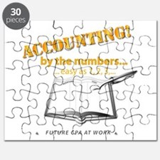 Accounting - By the Numbers Puzzle