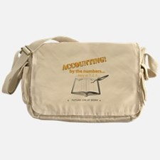 Accounting - By the Numbers Messenger Bag