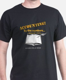 Accounting - By the Numbers T-Shirt