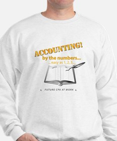Accounting - By the Numbers Sweatshirt