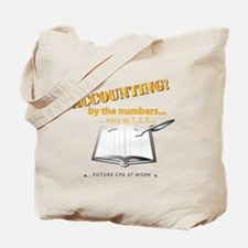 Accounting - By the Numbers Tote Bag