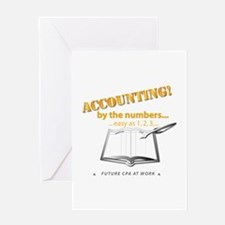 Accounting - By the Numbers Greeting Card