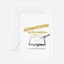 Accounting - By the Numb Greeting Cards (Pk of 20)