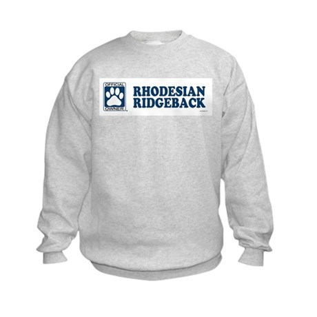 RHODESIAN RIDGEBACK Kids Sweatshirt