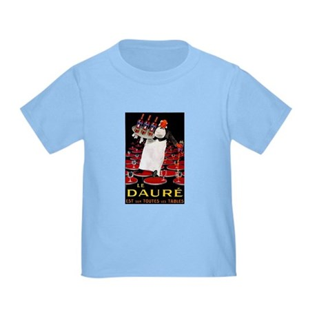 Vintage French Wine Poster Toddler T-Shirt