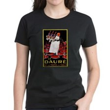 Vintage French Wine Poster (Front) Tee