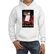 Vintage French Wine Poster (Front) Hoodie