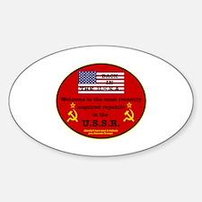 Cute Ussa Sticker (Oval)