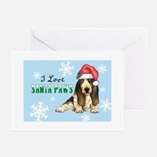 Holiday Basset Greeting Cards