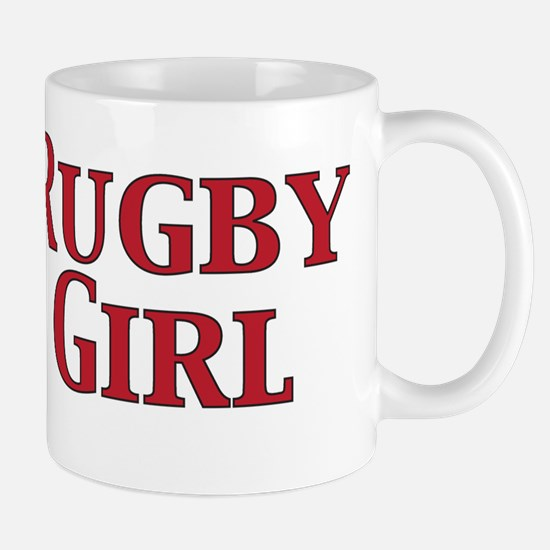 Rugby Girl Mugs