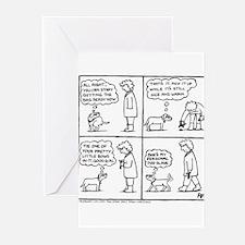 Poo Slave Greeting Cards