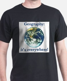 Geography Ash Grey T-Shirt