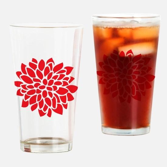 Cute Nature pattern Drinking Glass