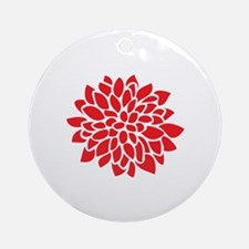 Cute Contemporary Round Ornament