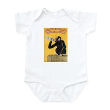 Monkey Liquor Poster Infant Bodysuit