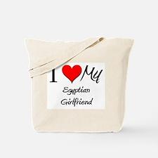 I Love My Egyptian Girlfriend Tote Bag