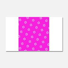 Pink Ribbon Breast Cancer 4Edie Car Magnet 20 x 12